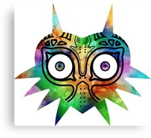 Majora's Mask Color Alt Canvas Print