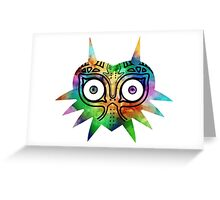 Majora's Mask Color Alt Greeting Card