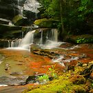Somersby Falls .. Thanks to Wazza by Michael Matthews