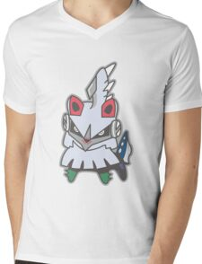 Kawaii Silvally!! Mens V-Neck T-Shirt