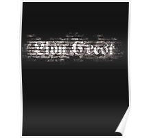 Lion Crest® - Brick Wall Graffiti Poster