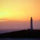 Sunset at Cape Leeuwin Lighthouse - Augusta - West Aust by tomcollins