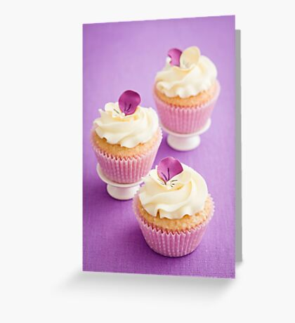 Decorated cupcakes Greeting Card