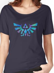 Hylian Crest Women's Relaxed Fit T-Shirt