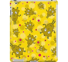 Seamless pattern with cartoon monsters iPad Case/Skin