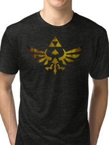 Skyward Sword Grunge Tri-blend T-Shirt
