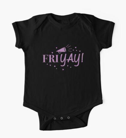 FRIYAY! in purple One Piece - Short Sleeve