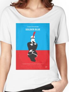 No136 My SOLDIER BLUE minimal movie poster Women's Relaxed Fit T-Shirt