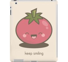 Keep Smiling Kawaii Tomato iPad Case/Skin