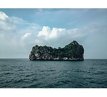 Lonely Island Photographic Print
