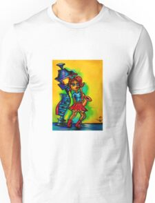 Voodoo doll sax player  Unisex T-Shirt