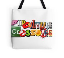 Pop Culture Crossover Tote Bag