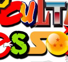 Pop Culture Crossover Sticker