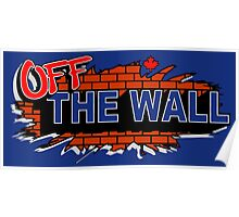 Off the wall - vans Poster