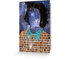 STARRY GIRL Greeting Card
