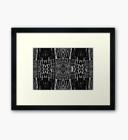 Trendy Stylish Unique Design Framed Print