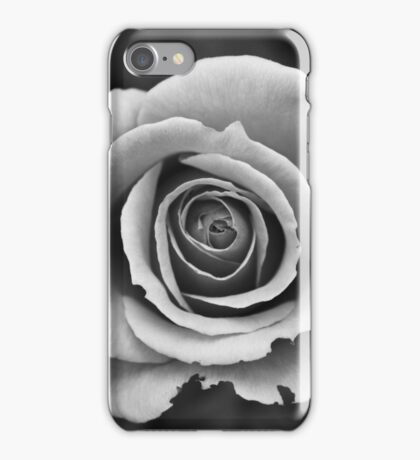 Black & White Rose iPhone Case/Skin