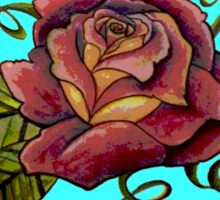 Old Style Rose New Color Sticker