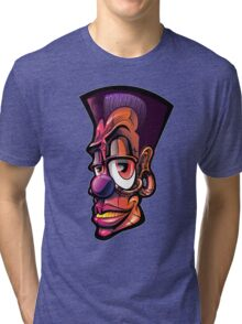 Toonkified Clown Tri-blend T-Shirt