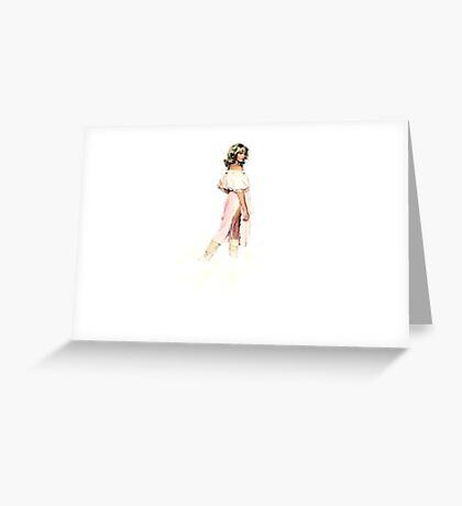 Olivia Newton-John - Xanadu - Kira Greeting Card