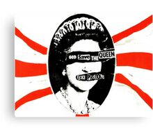 Sex Pistols - God Save The Queen Canvas Print