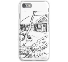 A Dragon's Winter Home in Vermont iPhone Case/Skin
