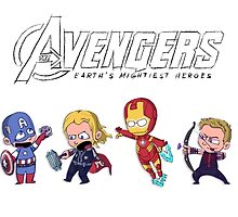 Earth's Mightiest Heroes by Ijsvale