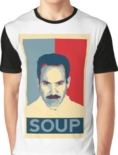 No soup for you. Soup Nazi Quote. Graphic T-Shirt
