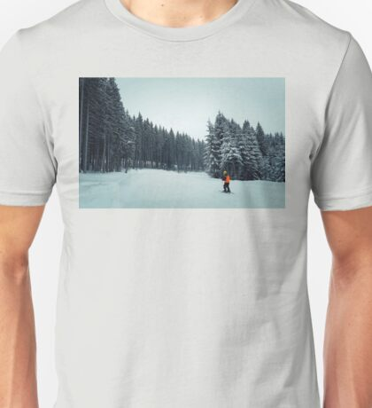 kid ski Unisex T-Shirt