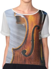Violin Chiffon Top