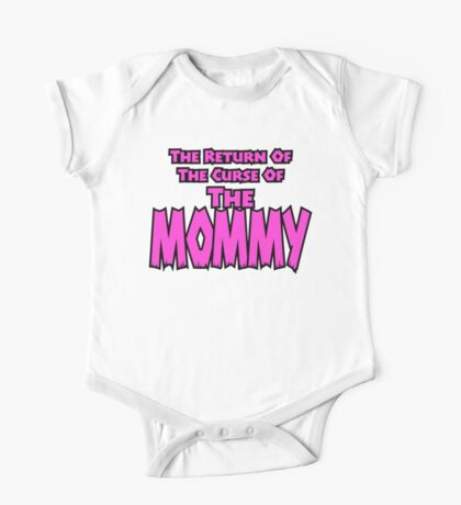 The Mommy Returns One Piece - Short Sleeve