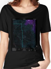USGS TOPO Map California CA Uhlmeyer Spring 295571 1994 24000 geo Inverted Women's Relaxed Fit T-Shirt