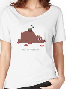 Bee My Valentine Women's Relaxed Fit T-Shirt