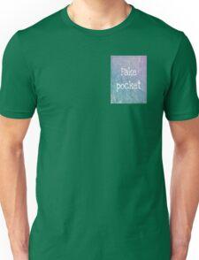 Fake pocket  Unisex T-Shirt