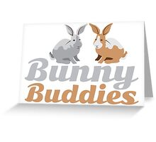 Bunny Buddies Greeting Card