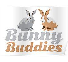 Bunny Buddies Poster