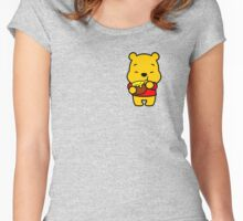 The Pooh Women's Fitted Scoop T-Shirt