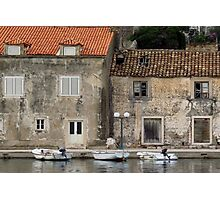 Harbourside Houses Photographic Print