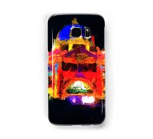 flinders st station melbourne victoria abstract Samsung Galaxy Case/Skin