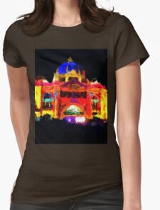 flinders st station melbourne victoria abstract T-Shirt