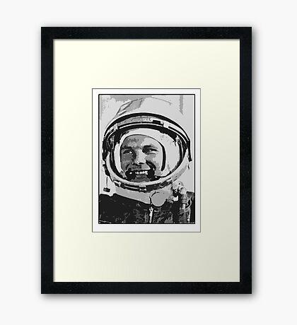 Yuri Gagarin  Framed Print