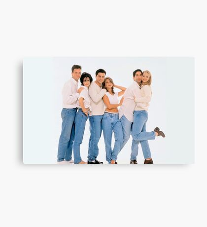 Friends Cast 3 Canvas Print