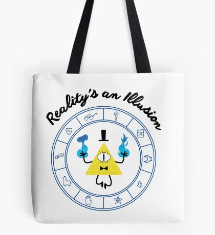 Bill Cipher - Gravity Falls Tote Bag