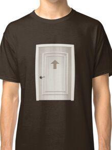 Glitch furniture door round square white door Classic T-Shirt