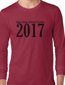 British Wrestling 2017 Support Long Sleeve T-Shirt
