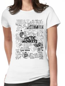 Arctic Monkeys 213 Womens Fitted T-Shirt