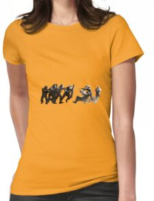 Rainbow Six Siege fight Womens Fitted T-Shirt