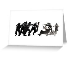 Rainbow Six Siege fight Greeting Card