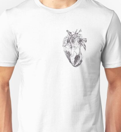 Stippling Heart Unisex T-Shirt