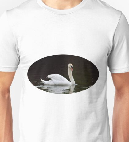 Beautiful white swan  Unisex T-Shirt